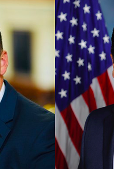 Republican candidates Tony Gonzales (left) and Raul Reyes Jr.