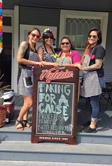 The women behind Baking For A Cause are helping San Anto Cultural Arts this time around.