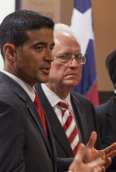 Bexar County DA Nico LaHood (left) is all for giving addicts a chance to recover but not behind bars.