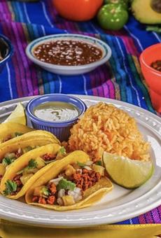 Viva Vegeria's Tacos Al Pastor