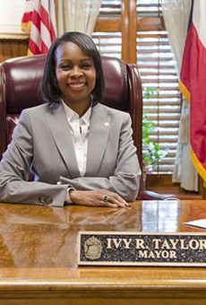 Mayor Ivy Taylor looks forward to her first full term as San Antonio's top leader.