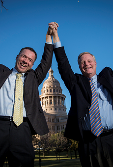Vic Homes and Mark Phariss were plaintiffs in a lawsuit challenging Texas' same-sex marriage ban. They're getting married in November!
