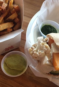 Kosher and vegan and delicious? All three at Moshe's.