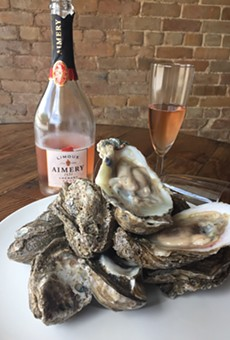 Oysters and Bubbly from Star Fish Global Seafood Restaurant