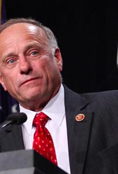 Rep. Steve King, R-Iowa, said he's as Hispanic as Julian Castro.