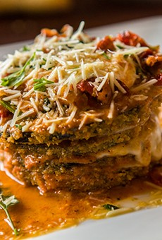 Melanzane Ana Maria – a must-order dish at Gennaro's Trattoria.