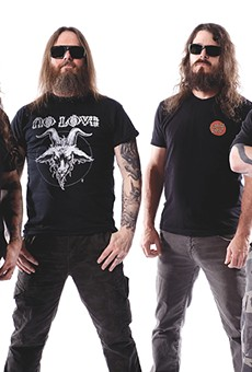 Slayer's 11th album, Repentless, is out September 11.