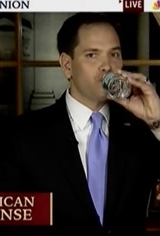 Let's hope Rubio's warmed up to the camera.