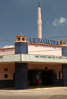 The Guadalupe Theater, located at 723 S. Brazos St.