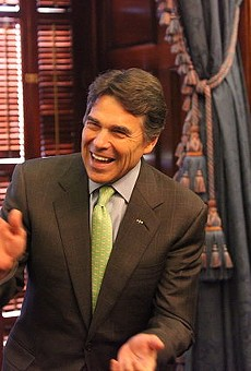 Former Texas Governor Rick Perry, back when the good times were rolling.