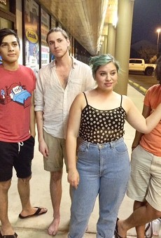 Octahedron (pictured from left to right: Daniel Puente, Ruben Lopez, Elena Lopez, and Austin Jimison)