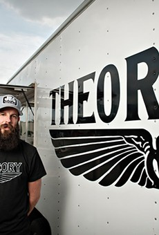 Theory Coffee owner Mark Vollmer.