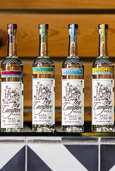 Mezcal is so hot right now.