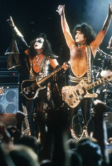 KISS is considered one of the loudest bands of all time.