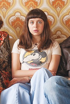Left to right: Kristen Wiig, Bel Powley and Alexander Skarsgård as the nuclear (disaster) family in The Diary of a Teenage Girl.