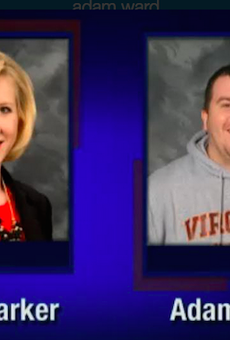 Television reporter Alison Parker and photojournalist Adam Ward were shot and killed during a live television news segment in Virginia today.