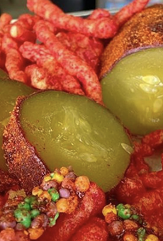 As puro as it gets: South San Antonio snack shop introduces Fruit Roll-Up-wrapped pickles