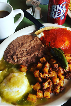 We could go for these huevos divorciados right about now.