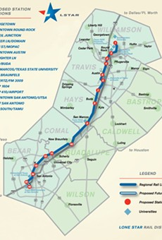 A commuter train that runs between San Antonio and Georgetown would change the face of transportation in South and Central Texas.