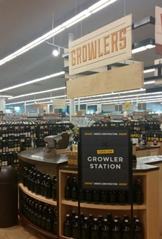 Yet another place to stock up on Texan beer!