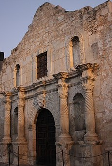 Julio Perez, 22, was arrested for carving his name inside The Alamo.