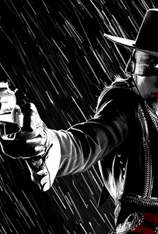 Patricia Vonne as Zoro Girl in the Sin City movies.