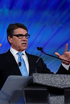 Former Texas Governor Rick Perry is the first presidential candidate to drop out of the 2016 race.