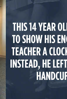Social media users were not happy with the arrest of a young Muslim student who brought a clock to school.