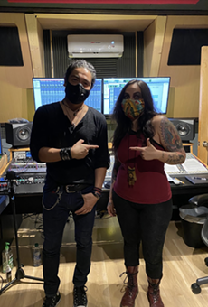San Antonio's Nina Diaz and Chris Perez team up on new music for virtual Día de los Muertos event
