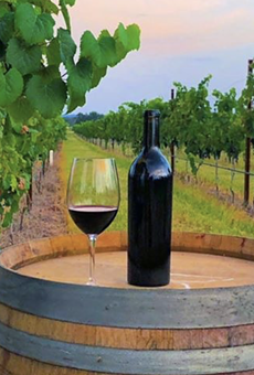 Fredericksburg, Texas is home to many tasting rooms and wineries, such as Augusta Vin Estate Winery, pictured here.