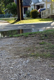 The map below reflects San Antonio's inconsistent sidewalk infrastructure.