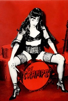 The Cramps, posing the age-old question: Can your pussy do the dog?