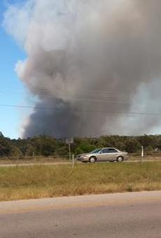 Bastrop County Fire Burns 250 Acres