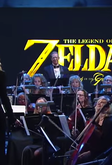 The Legend of Zelda: Symphony of the Goddesses performing on The Late Show with Stephen Colbert