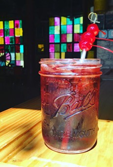 The County Line's holiday cocktail menu is definitely something to fawn over.