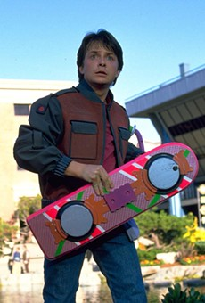 We still don't have hover boards though.