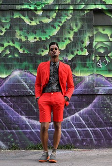 Producer Tony Harris is the face of Fashion Week San Antonio.