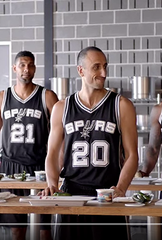 H-E-B released its new set of commercials with the Spurs.