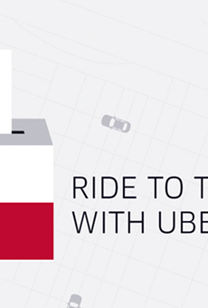 Uber is offering free rides to the polls for first-time riders.