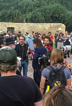 Ozzy Osbourne was swarmed by fans during what was supposed to be an under-the-radar visit to the Alamo on Thursday.