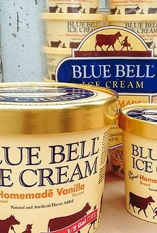 Blue Bell Ice Cream returns to San Antonio next month.