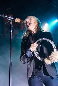 Mesmerizing Metric frontwoman Emily Haines.