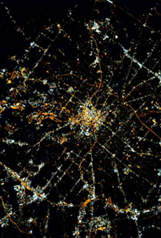 San Antonio from space