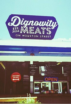 Huzzah! Dignowity Meats Is Opening For Dinner