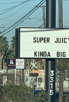 San Antonio chef Andrew Weissman's Mr. Juicy expertly trolls rival burger joint with road sign (2)