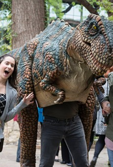 Have a Roaring Time with Tex Rex at Free Tuesday at the Witte Museum