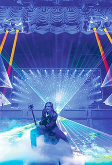 """""""You will never see this many lasers in your life."""""""