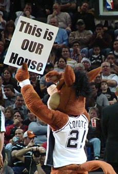 The Spurs Coyote leads the pack, as for as Alamo City mascots go.