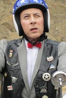 Pee-Wee rides again!
