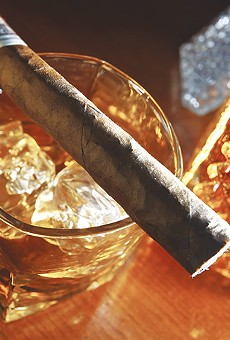 Don't waste good spirits or cigars.